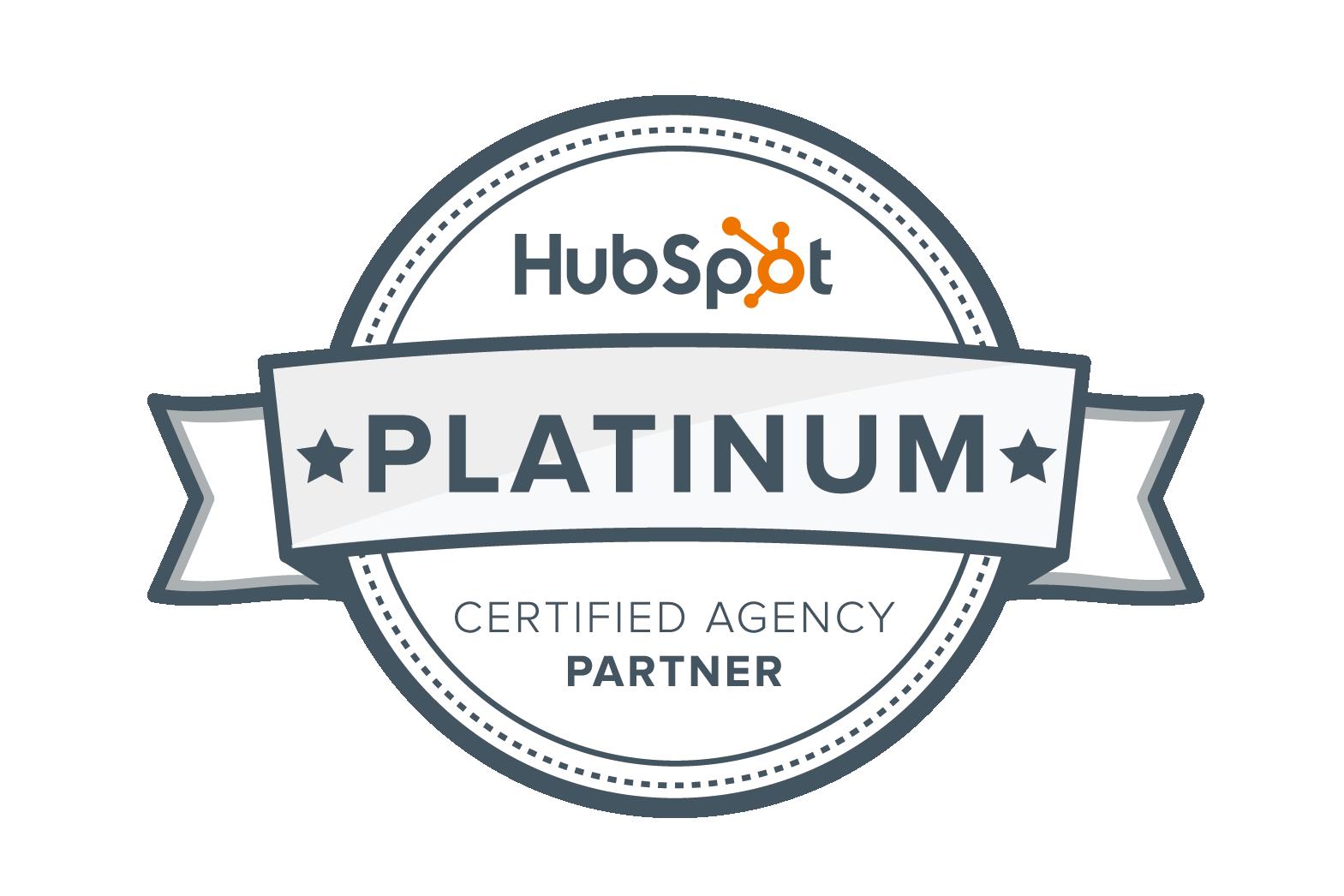 HubSpotプラチナパートナー